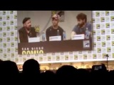 Victor Frankenstein James McAvoy Daniel Radcliffe Talks Accents SDCC Hall H San Diego Comic-Con