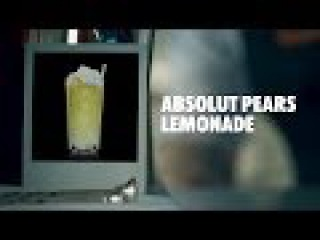 ABSOLUT PEARS LEMONADE DRINK RECIPE - HOW TO MIX