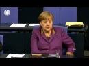 Merkels Gesicht wenn jemand mal die Wahrheit spricht im Bundestag