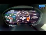 2016 Audi TTS (310hp) - 0-251 km/h Launch Control (60FPS)