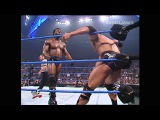 SmackDown 11/1/01 - Tag Team Title: Rock and Jericho vs Booker T and Test