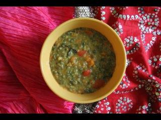 Мунг Дал - суп (Индийская кухня)