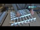 Технология монтажа потолка Грильято Монтаж Грильято видео