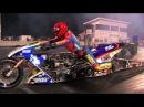 Top Fuel Nitro Motorcycle Import vs Harley - Larry Spiderman Mcbride 5.83et @ 232mph