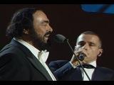 Luciano Pavarotti &amp Eros Ramazzotti - Se Bastasse Una Canzone