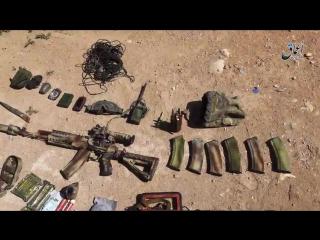 Якобы убитый боец ВС РФ в Сирии.