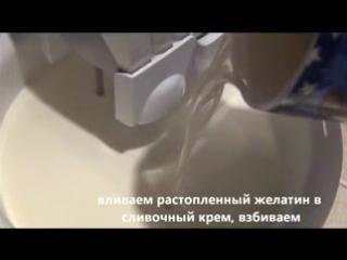 Торт-суфле КОТЁНОК для детского праздника _ украшения из мастики