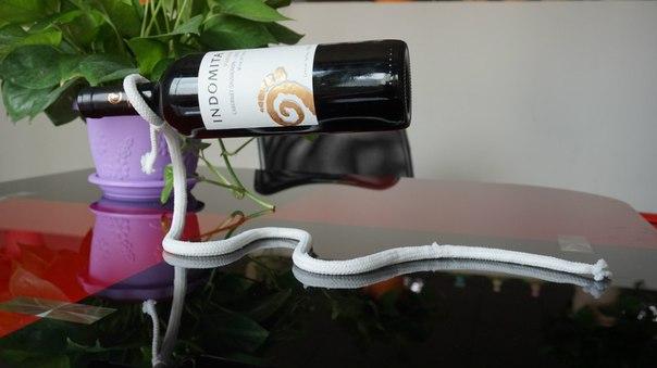 Banggood: Стильные держатели для винных бутылок с эффектом левитации