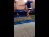Сегодняшняя тренировка прошла классно на батуте))))))))