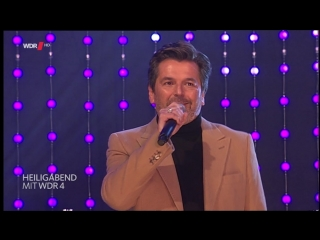 Thomas anders - sleigh ride + kisses for christmas ( wdr hd aachen - heiligabend mit wdr 4  24.12.2015)