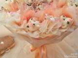Обзор, Свадебный  букет из мишек и зайчиков