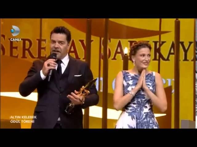 En İyi Kadın Oyuncu Serenay Sarıkaya Altın Kelebek Ödülleri