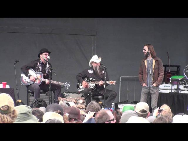 Les Claypool's Duo De Twang - full set Aspen Snowmass Mammoth Fest 6-15-14 HD tripod