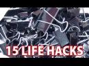 100均のダブルクリップでできる15のコト/15 Life Hack things do with binder clip/まとめライフハック動