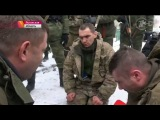 Ополченцы взяли в плен спецназ укропов в Дебальцево