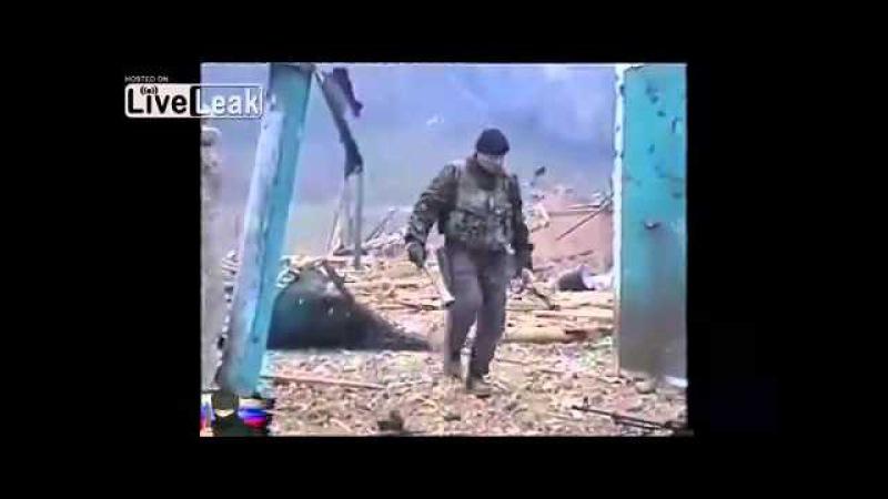 Разгром банды Гелаева в селе Комсомольском