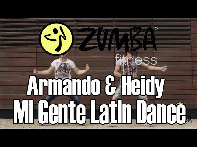 ZUMBA/ЗУМБА - Armando Heidy - Mi Gente Latin Dance - OFFICIAL CHOREOGRAPHY