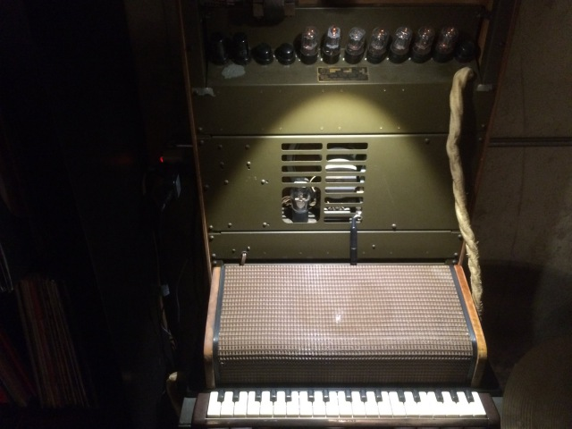 Hammond Solovox retrofitted with spring reverb