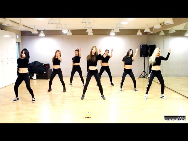 Brave Girls Deepened mirrored dance practice mirrorDV