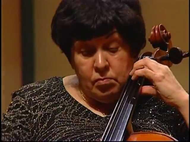 Bach Cello Suite 3 Bourree Natalia Gutman