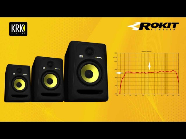 KRK ROKIT G3 Features and Benefits