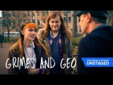 Grimes Gives Steve Buscemi The Brush Off (Amex UNSTAGED Vampire Weekend)