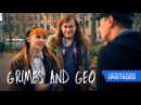 Grimes Gives Steve Buscemi The Brush Off (Amex UNSTAGED: Vampire Weekend)