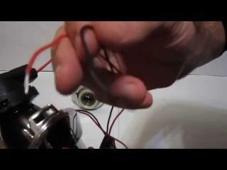 Линзованные противотуманки с ДХО для Ford Focus 3 от МирДХО