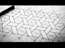 Hexagons Weaved How To Draw