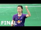 2015 Denmark Open FINAL | LI Xuerui vs P. V. Sindhu [HD]