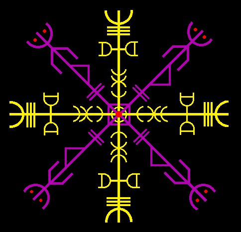 Черная Звезда (Агисхъяльм - защита и обратка ЧМ).  Автор maxnamara.  CF2sbxL4V3A