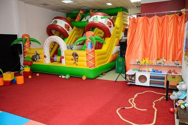 Игровая комната для проведения детских праздников в Севастополе.
