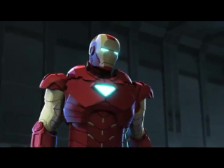 Железный человек и Капитан Америка_ Союз героев _ Iron Man and Captain America_
