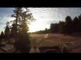 Появилось первое снятое с дрона GoPro видео