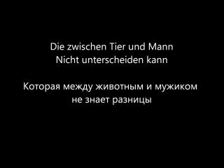 Tier - Rammstein HD Lyrics Текст песни и перевод