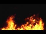 футаж огня