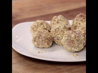 Трюфели из бисквитного печенья