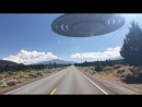 HOLY SHIZ! Backroad UFO Encounter - YouTube