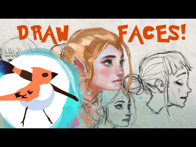 Drawing Faces Tutorial - Female Proportions!