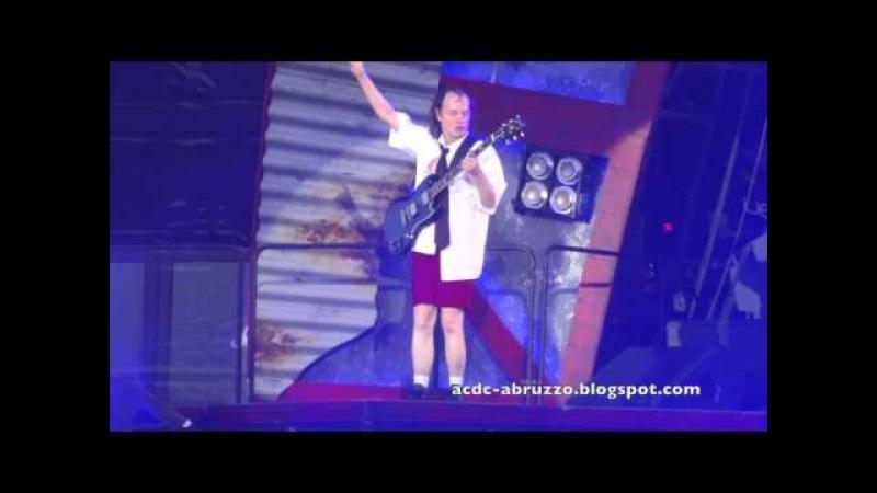 AC/DC HELLS BELLS Zurich 5 June 2015 - Letzigrund Stadium