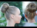 EASIEST SOCK BUN. Best Method For Layers too!!
