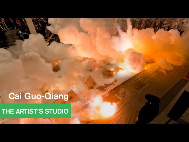 Cai Guo-Qiang - Drawing with Gunpowder - The Artist's Studio - MOCAtv