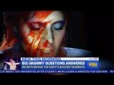 Репортаж о подготовке выступления Леди Гага на премии «Грэмми 2016» в передаче «GMA»