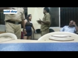Video__Mumbai_Woman_Drinks_Beer_Inside_Police_Station,_Abuses,_Threatens_Cops
