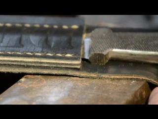 Прекрасный нож из напильника за 10 минут =)
