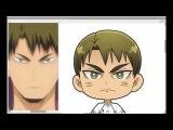 Haikyuu!! Sticker: Ushijima Wakatoshi
