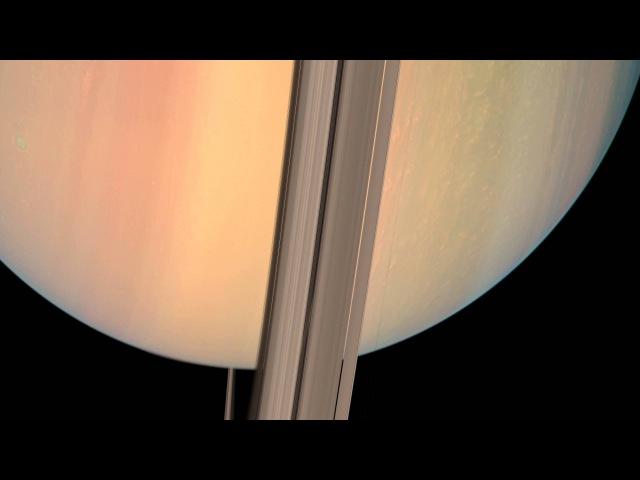 4K Saturn Cassini Photographic Animation (updated)