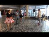 Мастер-класс по твисту от студии эстрадного танца