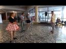 Мастер-класс по твисту от студии эстрадного танца Галас. Ведущий - Алексей Сухарников