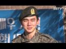 "[SSTV] 유승호 전역, 뜨거운 눈물로 복귀! ""행복 주는 배우 되겠다"""